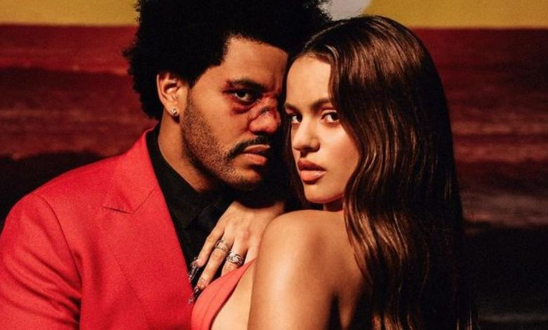 """Es horrible"": Destrozan colaboración de Rosalía y The Weeknd en remix de ""Blinding Lights"""