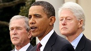 Obama, Bush y Clinton, dispuestos a vacunarse en público contra COVID para animar a estadounidenses